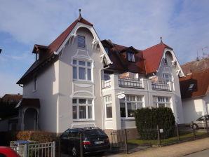 Ferienwohnung TOPP im Kapitänshaus Ostseerose