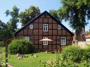 Ferienwohnung Lebenswert - FeWo im alten Fachwerkhaus