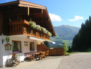 Holiday apartment auf dem Bergbauernhof Felder