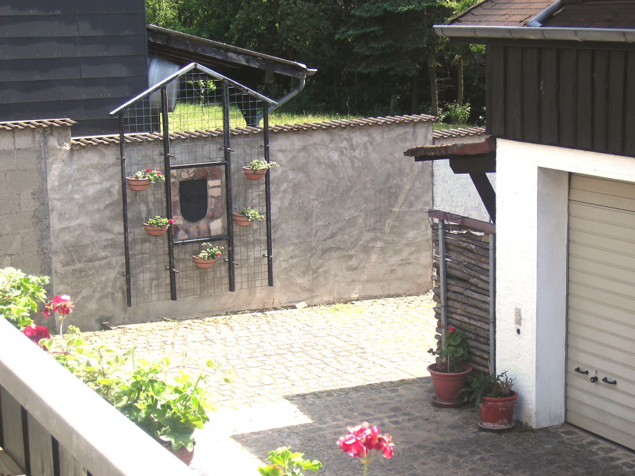 Innenhof Sommer 2011