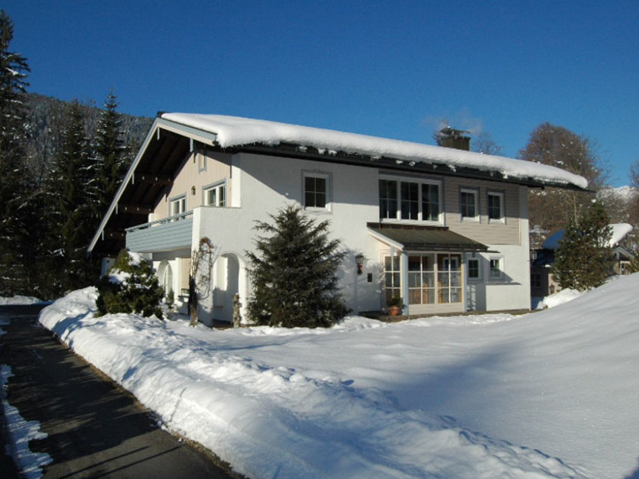 Haus Wein im Winter