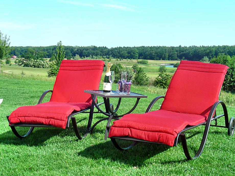 Entspannen im Gartenbereich (unverbaub. Golfplatzblick)