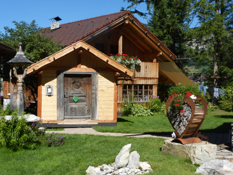 Berghütte am Haldensee