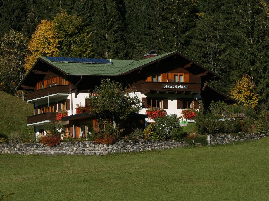 Haus Erika im Sommer