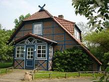 Ferienhaus Das Blaue Fachwerkhaus am Jeetzeldeich