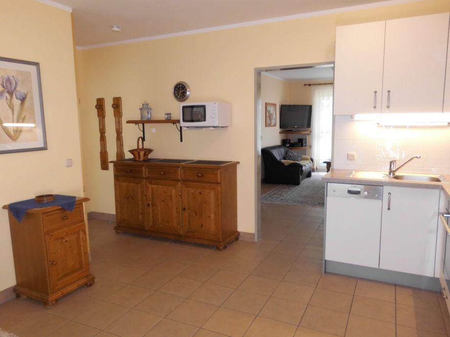 Wohnküche - Ferienwohnung am Ostseestrand