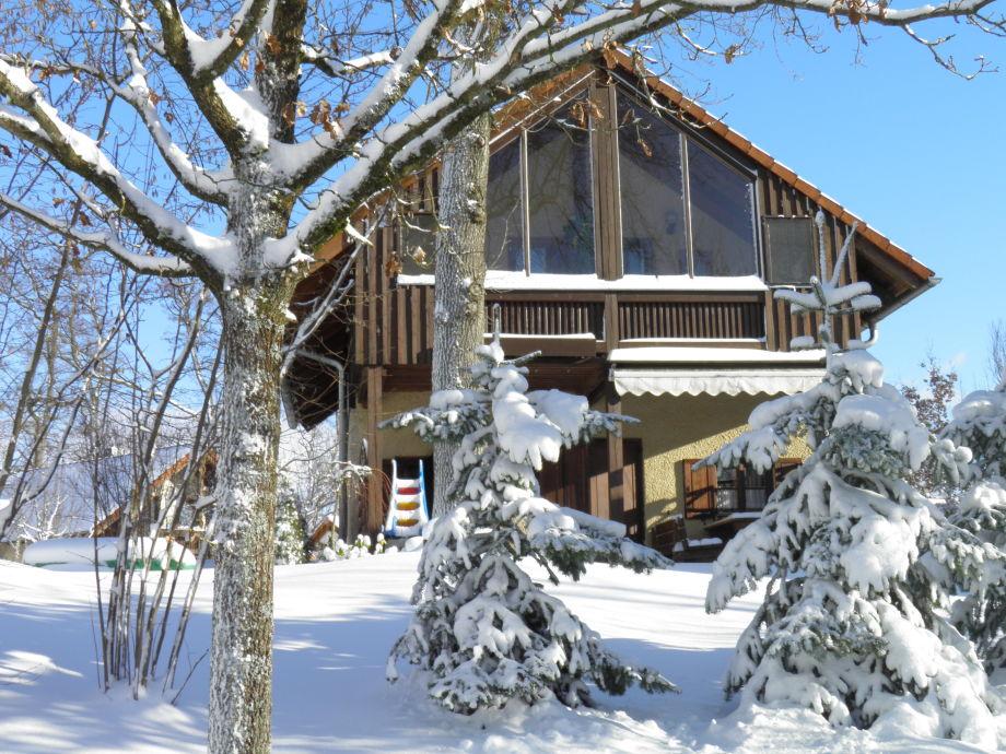 Winter im Park: 4-Sterne-Landhaus CHALET ILONA