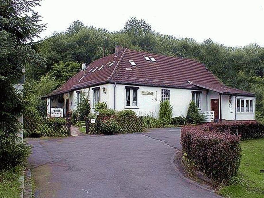"""Außenaufnahme Gästehaus """"Am Habichtswald"""""""
