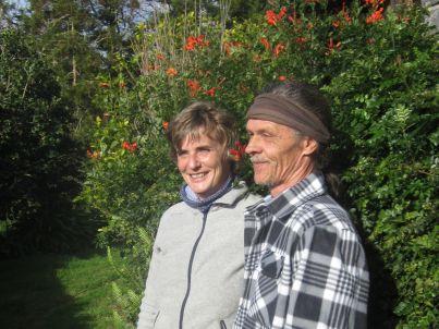 Ihr Gastgeber Wolfgang Harbich und Margit Arnold