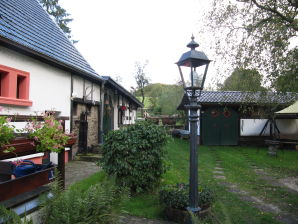 Cottage directy located at the edge of the forest
