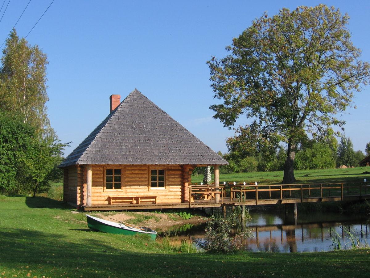 jaunbrenguli kleines ferienhaus gauja national park frau iveta karklina. Black Bedroom Furniture Sets. Home Design Ideas
