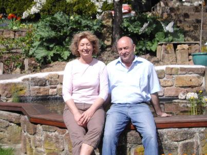 Ihr Gastgeber Andrea und Harald Lehmann