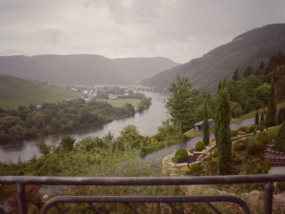 Balkonsicht Richtung Traben-Trarbach