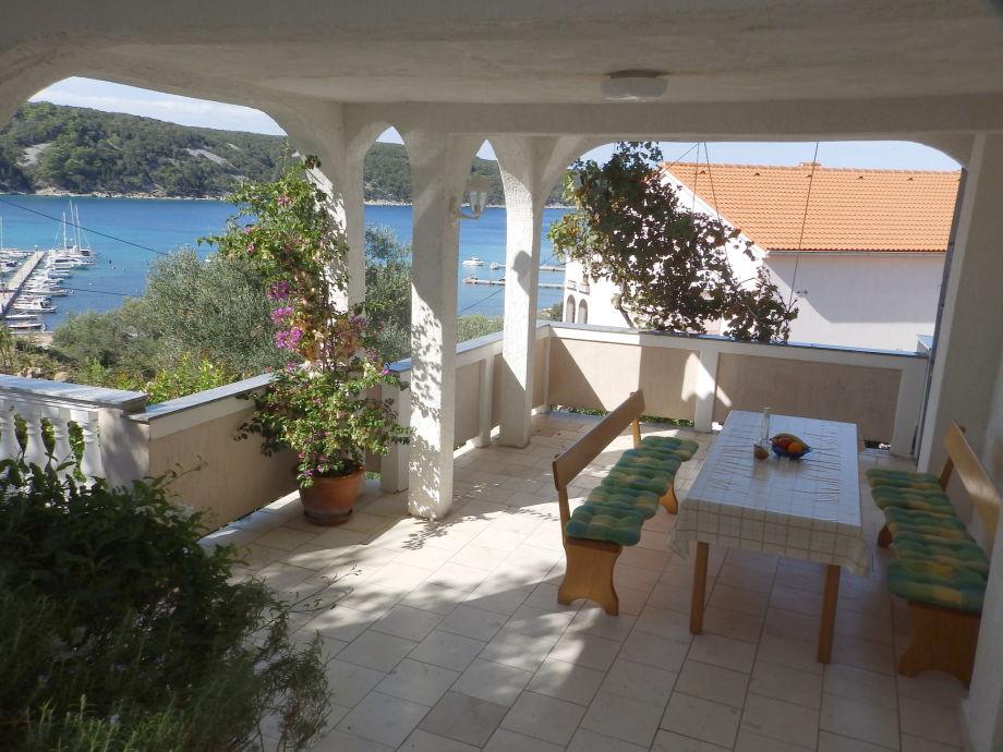Grosse Terrasse mit schone Meerblick