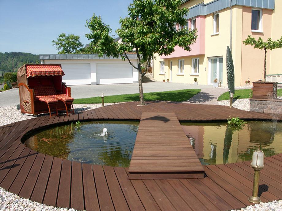 Apartment mosel 115 mosel herr reiner blumberg - Garten mit teich ...