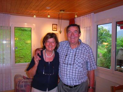 Ihr Gastgeber René und Ginette Kaufmann-Brem