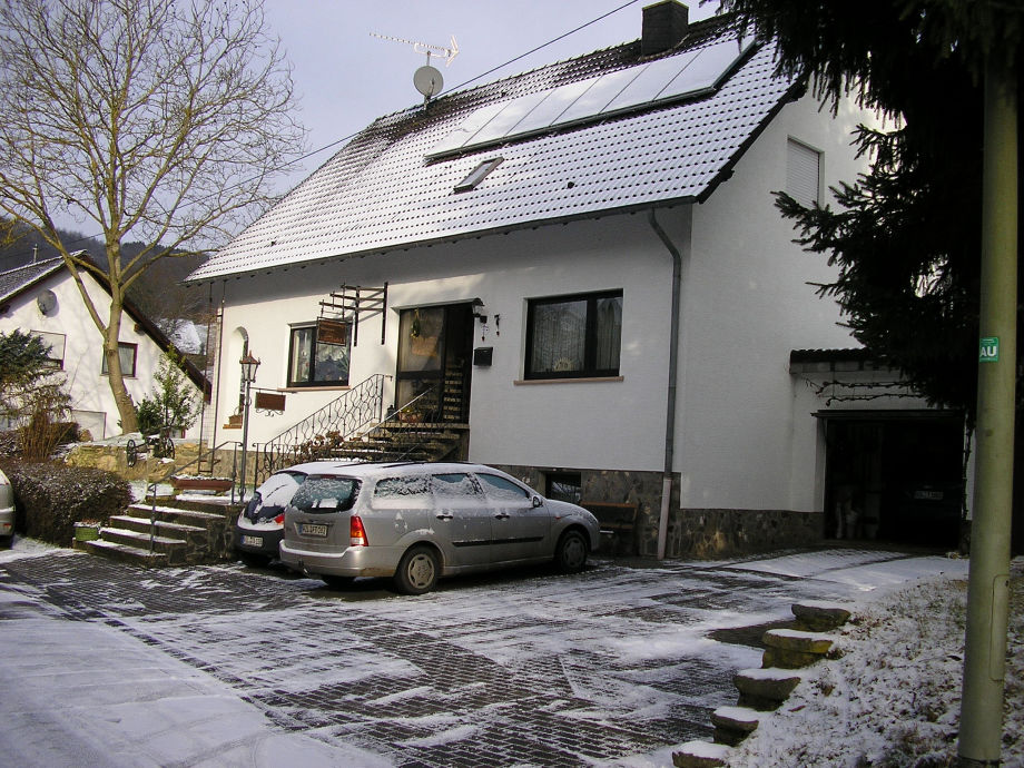 Winterimpression des Ferienhause