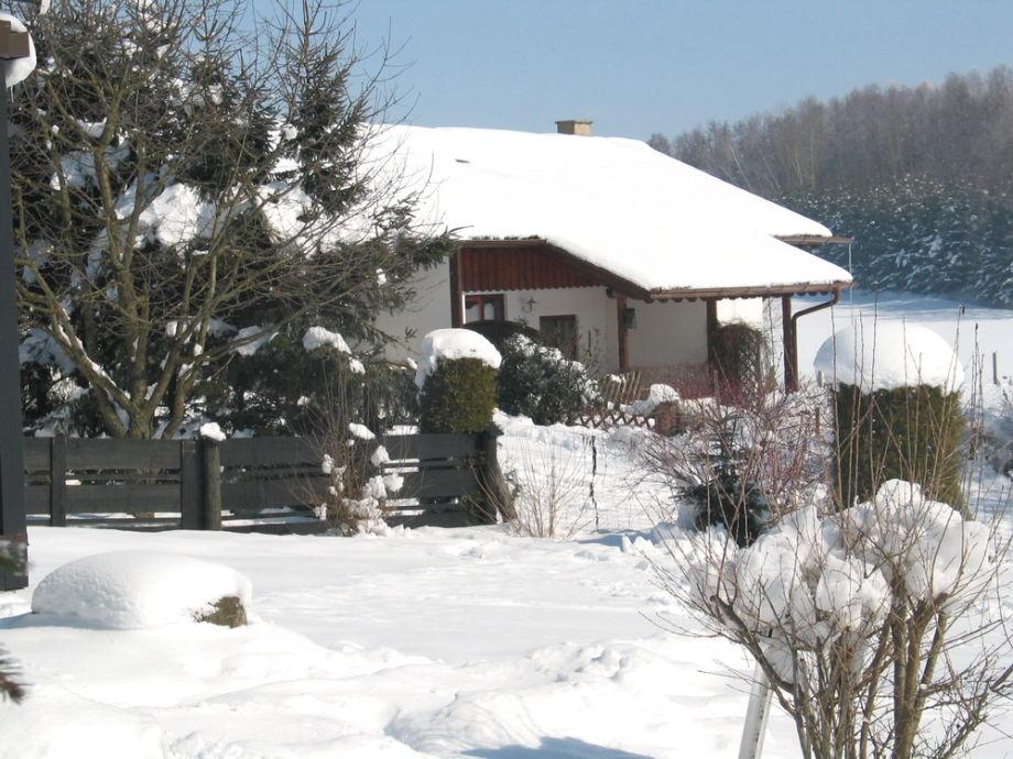 Ferienhaus Sonnenschein im Winter