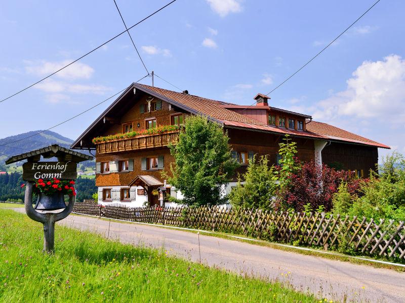 Ferienwohnung Ferienhof Gomm - Hochgrat