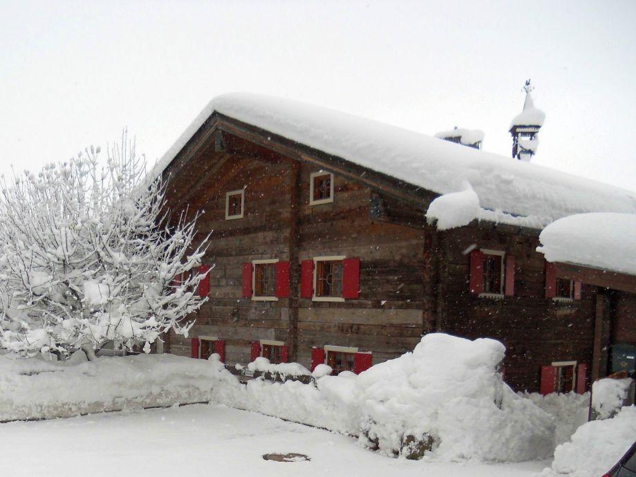 Schmiedhaus im Winter