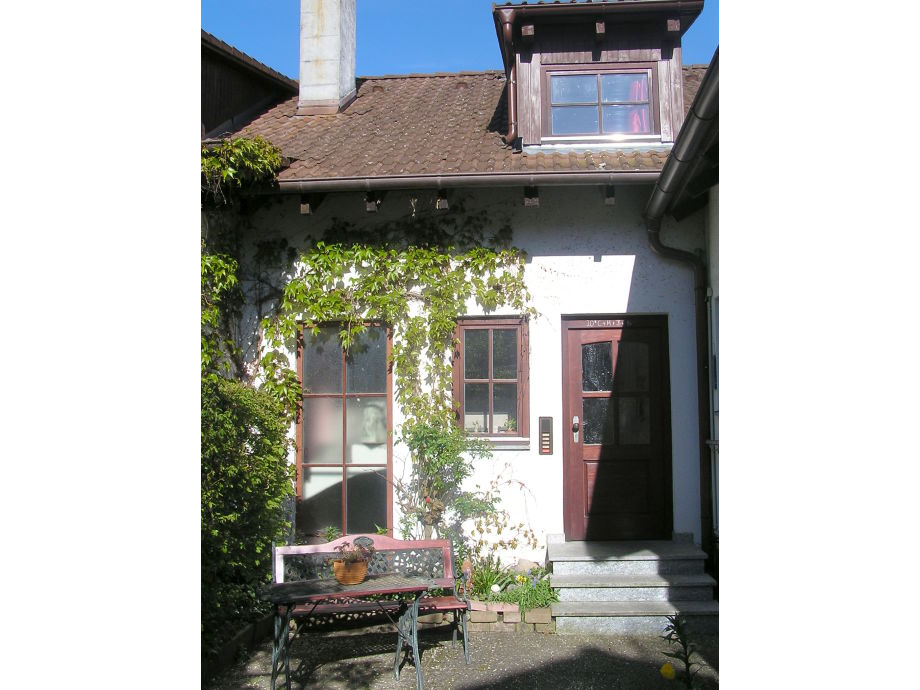 Außenaufnahme House Clauß in Salem at the lake of constance
