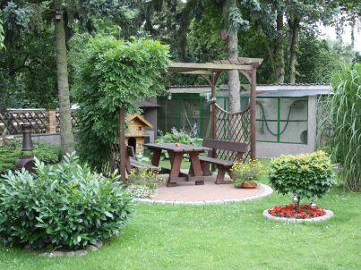 Garten-Apartment mit Küche