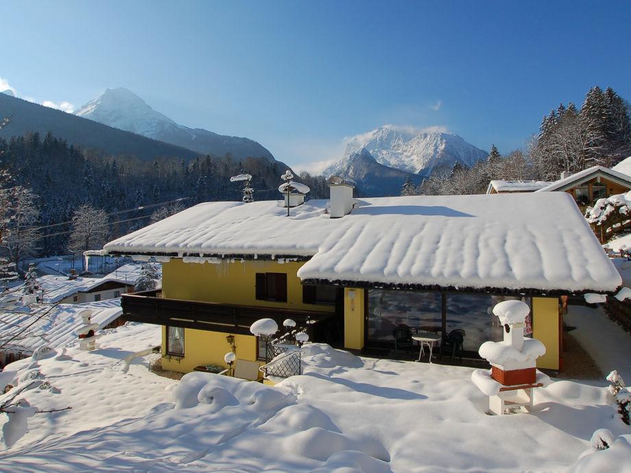 Winter Haus Edelweiss