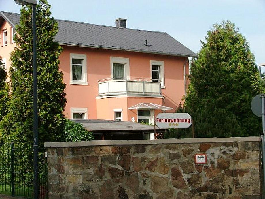 Die 1.Etage ist die Ferienwohnung mit Balkon