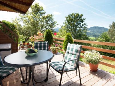 Panoramablick Südhanglage