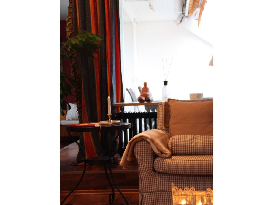 ferienwohnung dachatelier mit offenem kamin bodensee berlinger see berlingen frau. Black Bedroom Furniture Sets. Home Design Ideas