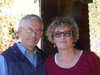 Ihr Gastgeber Philippe und Marie-Paule Berthoud