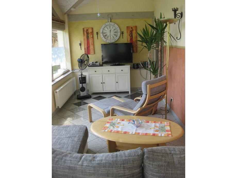 Wohnzimmer 4*Fewo Wintergarten