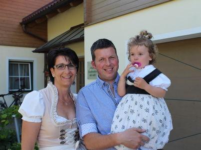 Ihr Gastgeber Peter und Patrizia Kälin