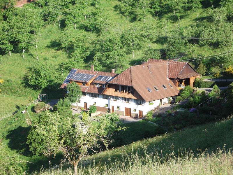 Ferienwohnung Hagenbachblick auf dem Bergkarleshof