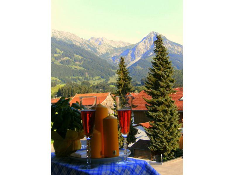 Holiday apartment 1a-Alpenpanorama