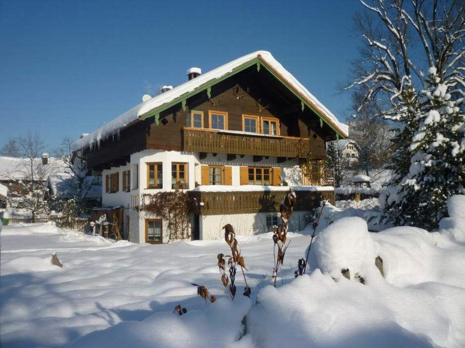 Winterliches Vogl-Haus