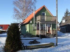 Grünes Ferienhaus am Fleesensee