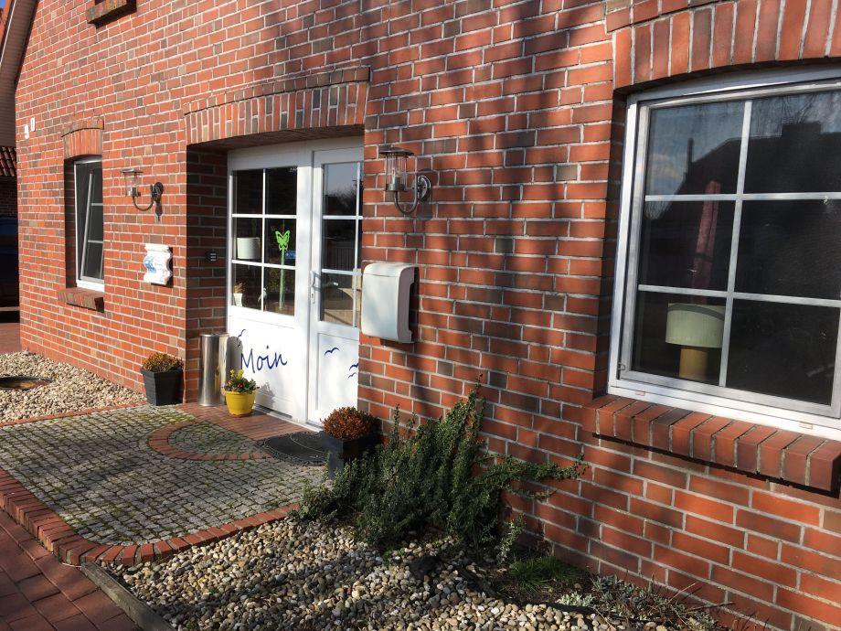 Eingang Haus Seekrabbe