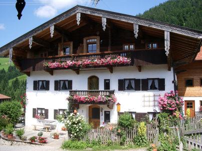 """Ferienwohnung """"Geigelstein"""" auf dem Simmerl- Bauernhof"""