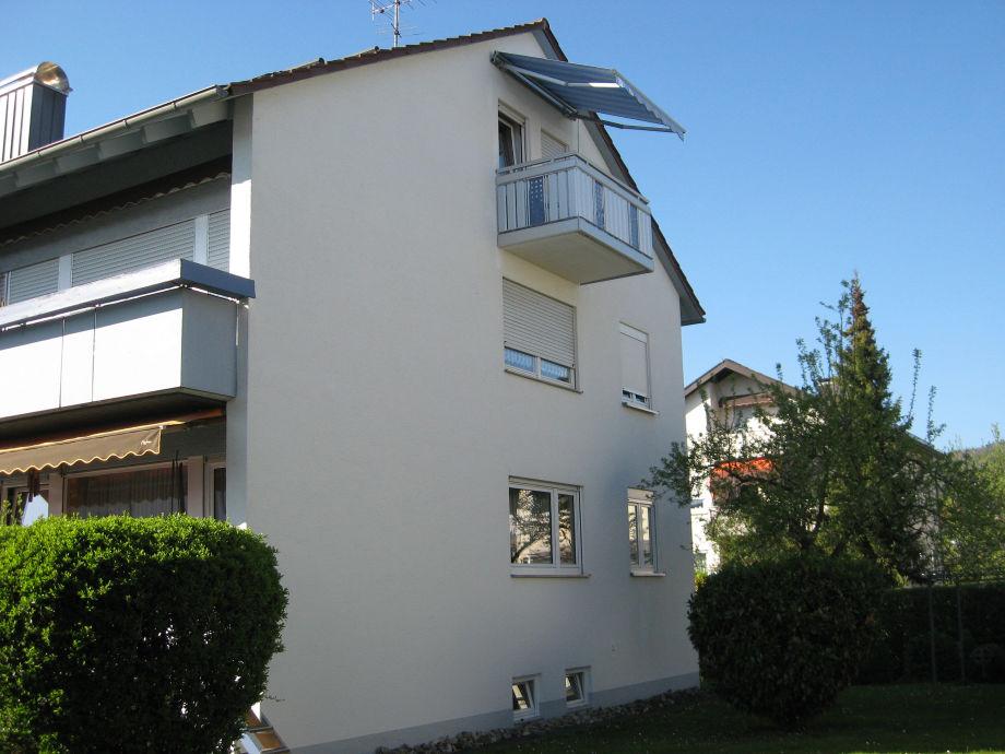 Ansicht Haus Balkon
