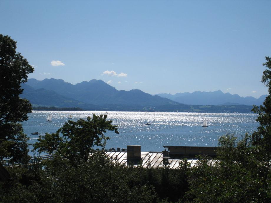 Ferienwohnungen Gästehaus Paulfischer direkt am Chiemsee, Chiemsee, Chiemgau, Bayerische Alpen ...
