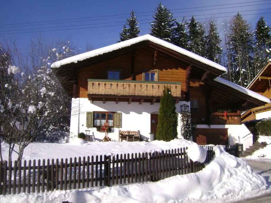 Ferienwohnung Wein im Winter