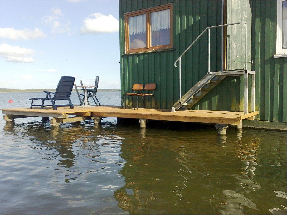 Terrasse zum See