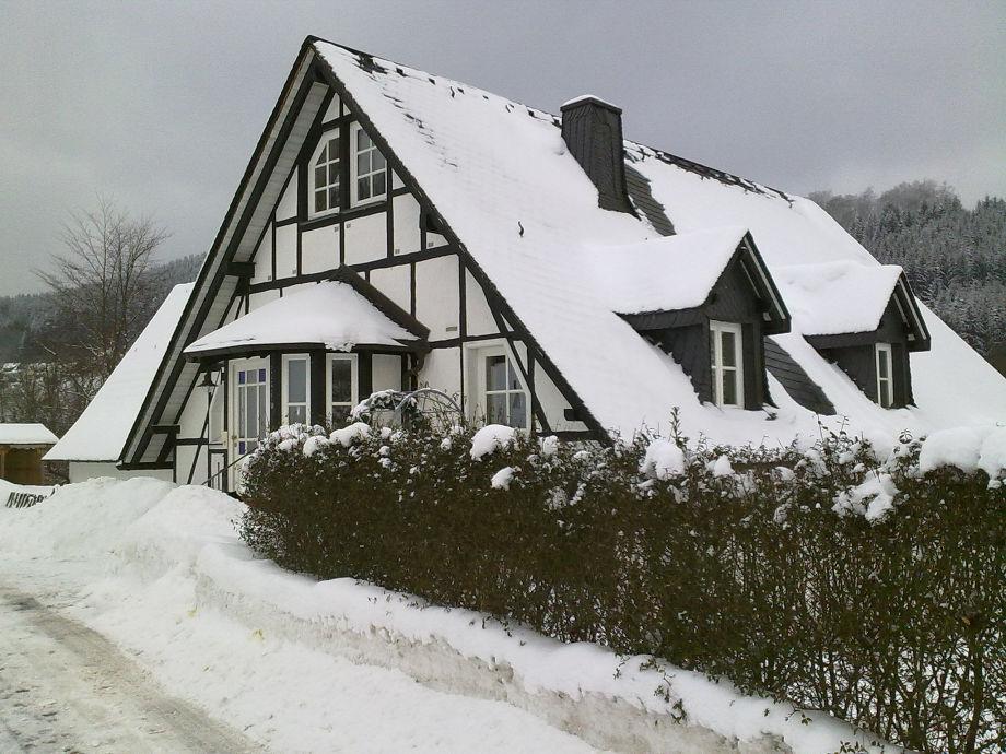 Außenaufnahme Menke bei Winterberg
