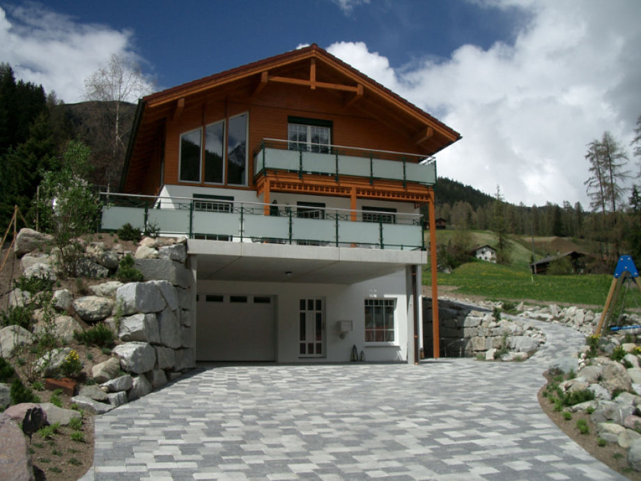 Chalet Davos in summer time