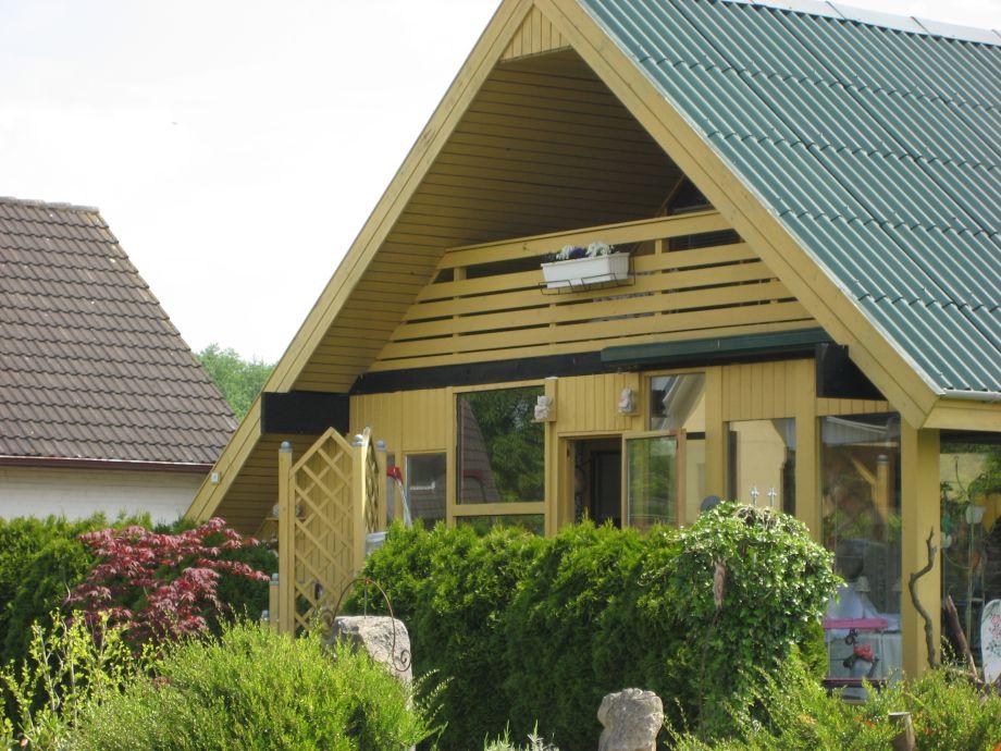 Unser Holzhaus im dänischen Stil