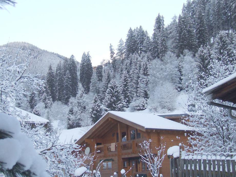 Chalet Jottem im Winter