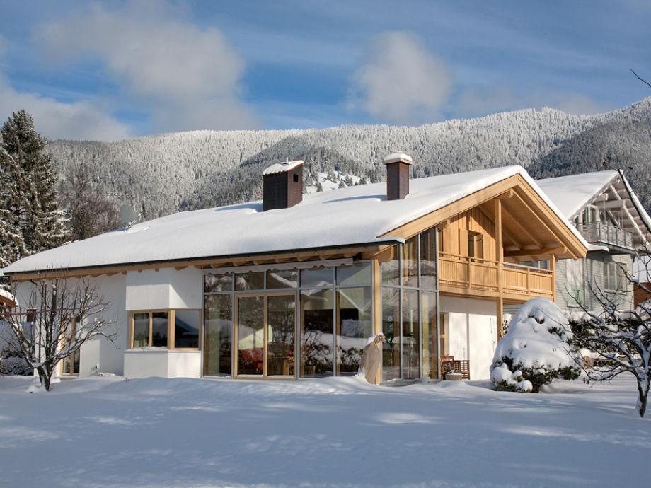 Das Ferienhaus Ambiente im Winter