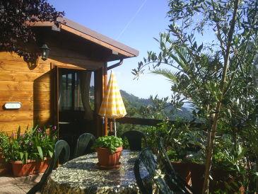 Holiday house casa solare e tramonto