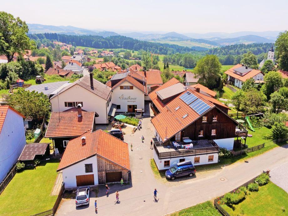 Ferienhof Meininger von oben